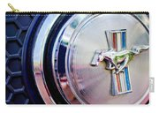 1970 Ford Mustang Mach 1 Emblem Carry-all Pouch