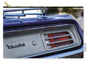 1970 Plum Crazy Purple Plymouth 'cuda Carry-all Pouch