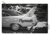 1970 Plymouth Road Runner Hemi Super Bird Bw Carry-all Pouch
