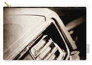 1970 Pontiac Barracuda Cuda Taillight Emblem Carry-all Pouch