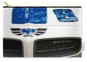 1970 Pontiac Firebird Grille Emblem Carry-all Pouch by Jill Reger