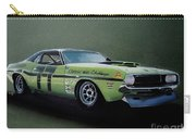 1970's Challenger Race Car Carry-all Pouch