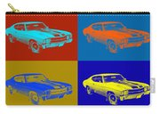1971 Chevrolet Chevelle Ss Pop Art Carry-all Pouch