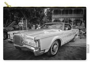 1971 Lincoln Continental Mark IIi Painted Bw   Carry-all Pouch