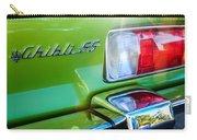 1971 Maserati Ghibli 4.9 Ss Spyder Taillight Emblem -0187c Carry-all Pouch