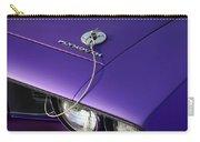 1971 Plum Crazy Purple Plymouth 'cuda 440 Carry-all Pouch by Gordon Dean II