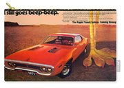 1971 Plymouth Road Runner Carry-all Pouch