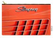 1972 Chevrolet Corvette Stingray Emblem 3 Carry-all Pouch