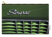 1972 Chevrolet Corvette Stingray Emblem Carry-all Pouch by Jill Reger