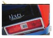 1972 Chevrolet Nova Ss Taillight Emblem -0355c Carry-all Pouch