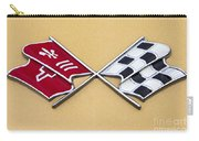 1972 Corvette Crossed Flags Carry-all Pouch