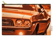 1972 Dodge Challenger In Orange Carry-all Pouch
