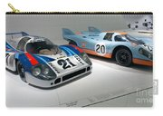 1972 Porsche 917 Lh Coupe And 1970 Porsche 917 Kh Coupe Carry-all Pouch