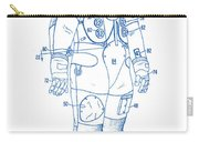 1973 Nasa Astronaut Space Suit Patent Art 2 Carry-all Pouch