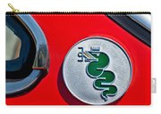1974 Alfa Romeo Gtv Emblem  Carry-all Pouch