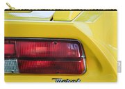 1974 Maserati Merak Taillight Emblem -1265c Carry-all Pouch