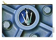 1974 Maserati Merak Wheel Emblem Carry-all Pouch