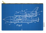 1975 Nasa Space Shuttle Patent Art 1 Carry-all Pouch
