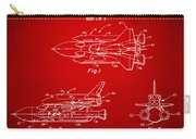 1975 Space Shuttle Patent - Red Carry-all Pouch