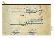 1975 Space Vehicle Patent - Vintage Carry-all Pouch