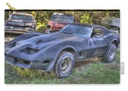 1977 Corvette Black Carry-all Pouch