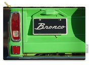 1977 Ford Bronco Taillight Carry-all Pouch