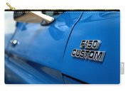 1977 Ford F 150 Custom Name Plate Carry-all Pouch by Brian Harig