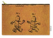 1979 Lego Minifigure Toy Patent Art 5 Carry-all Pouch