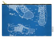 1980 Soccer Shoes Patent Artwork - Blueprint Carry-all Pouch