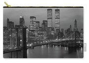 1980s New York City Lower Manhattan Carry-all Pouch