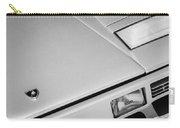1982 Lamborghini Countach 5000s Hood Emblem -1518bw Carry-all Pouch