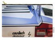 1982 Lamborghini Countach 5000s Taillight Emblem -0453c Carry-all Pouch