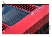 1984 Ferrari 512 Bbi By Pininfarina Rear Emblems -0822c Carry-all Pouch
