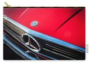 1984 Mercedes 500 Sl Convertible Carry-all Pouch