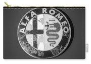 1986 Alfa Romeo Spider Quad Emblem Carry-all Pouch
