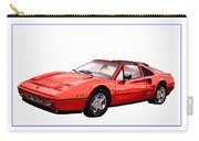 Ferrari 328 G T S 1986 Carry-all Pouch