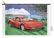 1987 Ferrari Testarosa  Carry-all Pouch