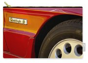 1988 Alfa Romeo Spider Quad Emblem Carry-all Pouch by Jill Reger