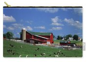 1990s Amish Family Farm Bunker Hill Carry-all Pouch