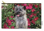 1990s Cairn Terrier Dog Standing Carry-all Pouch