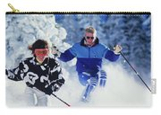 1990s Couple Skiing Vail Colorado Usa Carry-all Pouch