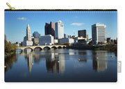 1990s Skyline Along The Scioto River Carry-all Pouch