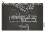 1993 Nintendo Game Boy Patent Artwork - Gray Carry-all Pouch
