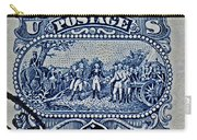 1994 Battle Of Saratoga Stamp Carry-all Pouch