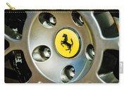 1997 Ferrari F 355 Spider Wheel Emblem -201c Carry-all Pouch