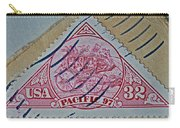 1997 Pacific Stagecoach Stamp Carry-all Pouch