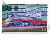 1999 Hiawatha Train Stamp Carry-all Pouch