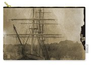19th Century Schooner Carry-all Pouch