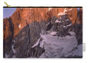 1m9380-sunrise On The North Face Of Grand Teton Carry-all Pouch