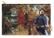 Alaskan Malamute Art Canvas Print Carry-all Pouch